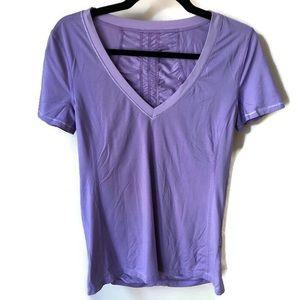 Lululemon Runner Up Tee Light Purple Size 8